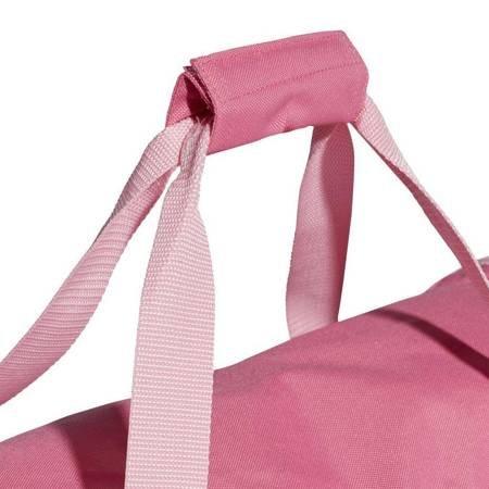Torba adidas Linear Core Duffel M różowa DT8622
